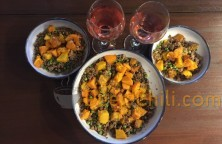 Serve Ground Venison Curry w/ Butternut Squash