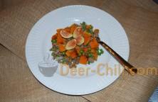 Venison, Fig, Butternut Squash, & Peas Meal
