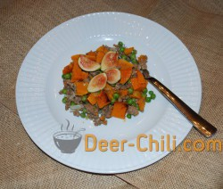 Venison, Fig, Butternut Squash, & Peas Meal