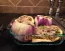 Venison Stuffed Eggplant